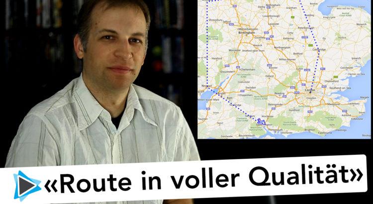 Beste Qualität von Reiserouten beim Export aus Route Generator