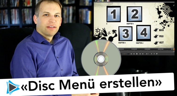 Disc Menüs in Pinnacle Studio