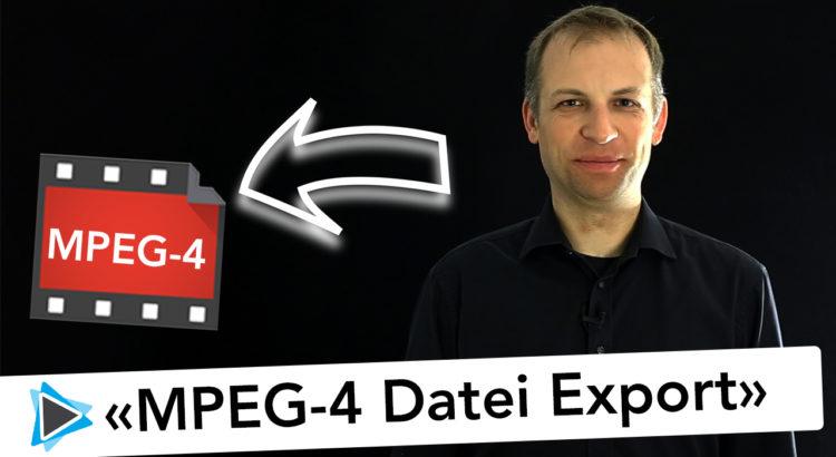 Pinnacle Studio Deutsch MPEG 4 Datei Exportieren in bester Qualität - Video Tutorial
