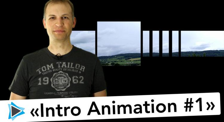 Intro & Titel Animation mit Pinnacle Studio 19 Deutsch Video Tutorial #1