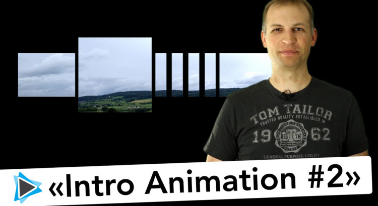 Hintergrund und Titel Animation mit Pinnacle Studio 19 Deutsch Video Tutorial 2