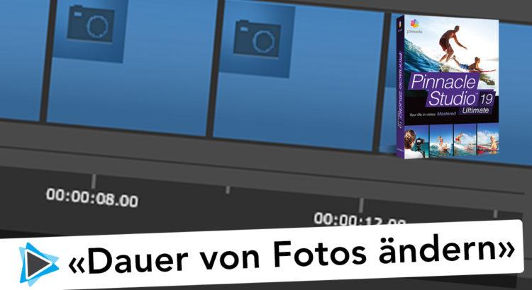 Länge von Standbildern und Fotos in Pinnacle Studio Deutsch Video Tutorial