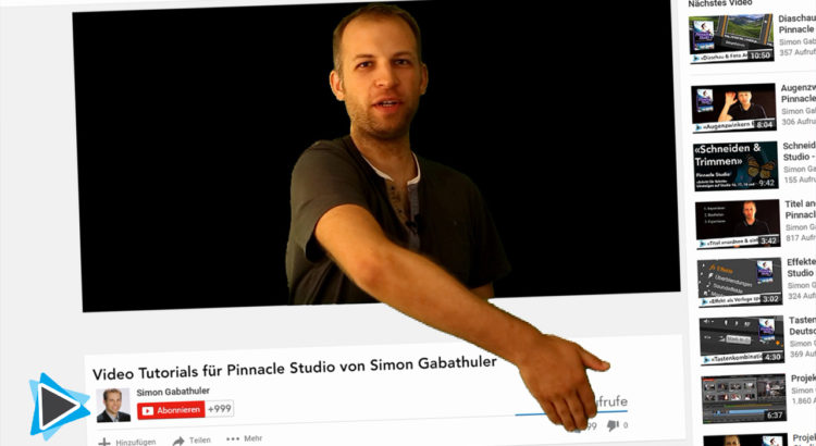 Pinnacle Studio Deutsch Video Tutorial Chroma Key und Green Screen Effekt