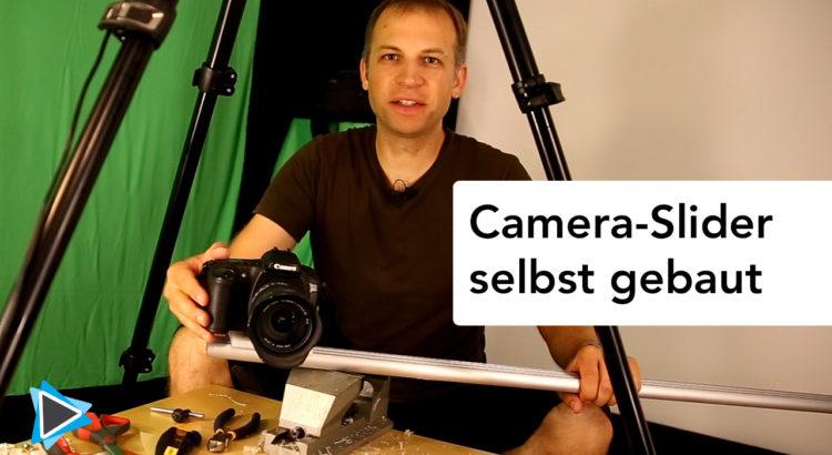 Camera Slider Selbst gebaut nach einer Anleitung mit Einzelteilen aus der IKEA DIY