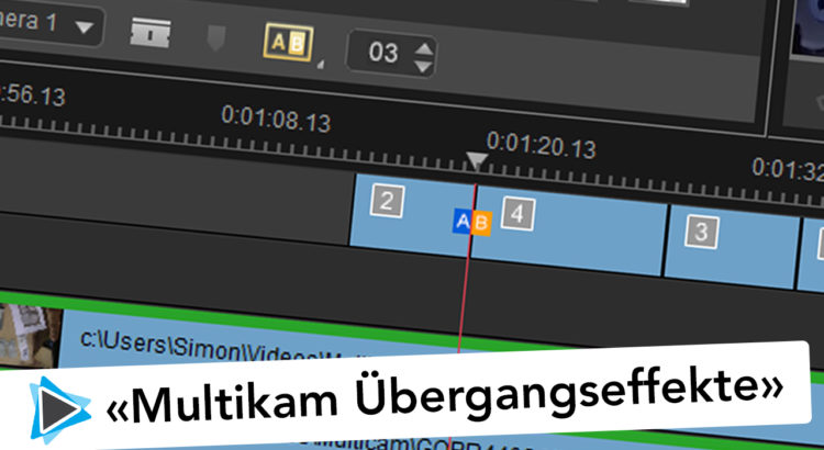 Übergangseffekte im Multikamer Editor in Pinnacle Studio 20 Deutsch Video Tutorial #3