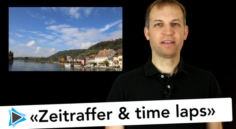 Pinnacle Studio 20 Deutsch Zeitraffer Time Laps Aufnahme DSLR Controller APP Video Tutorial