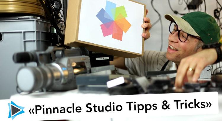Pinnacle Studio Deutsch Video Tutorials Anleitungen Tipps und Tricks von Simon Gabathuler