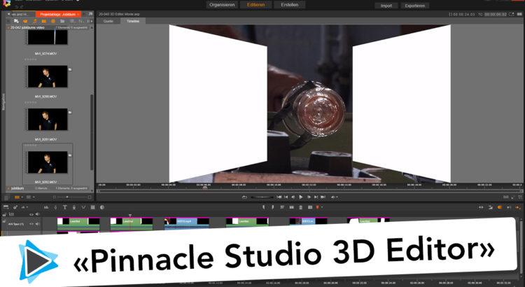Pinnacle Studio 20 Deutsch 3D Editor Effekte Video Tutorial