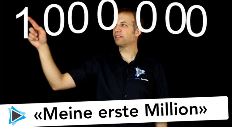 Meine erste Million und 2000 Abonnenten Pinnacle Studio 20 Deutsch Video Tutorial Simon Gabathuler