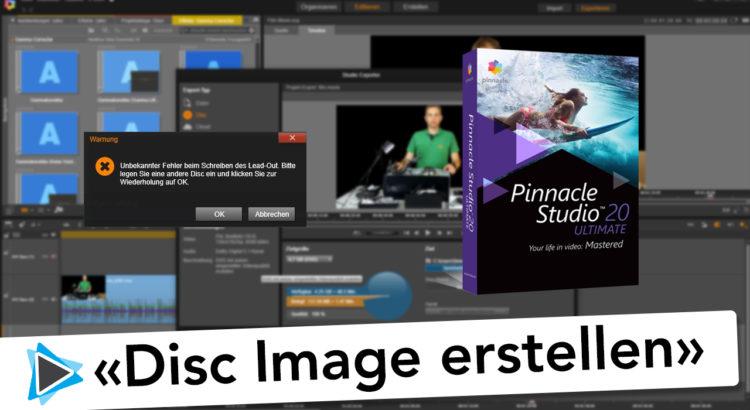 DVD Image erfolgreich brennen mit einem ISO Image in Pinnacle Studio Deutsch Video Tutorial