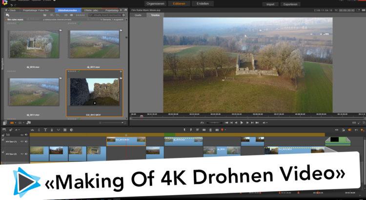 Kameraeinstellungen mit der Drohne DJI Mavic Pro und Making of meines ersten Drohnen Filmes Tutorial